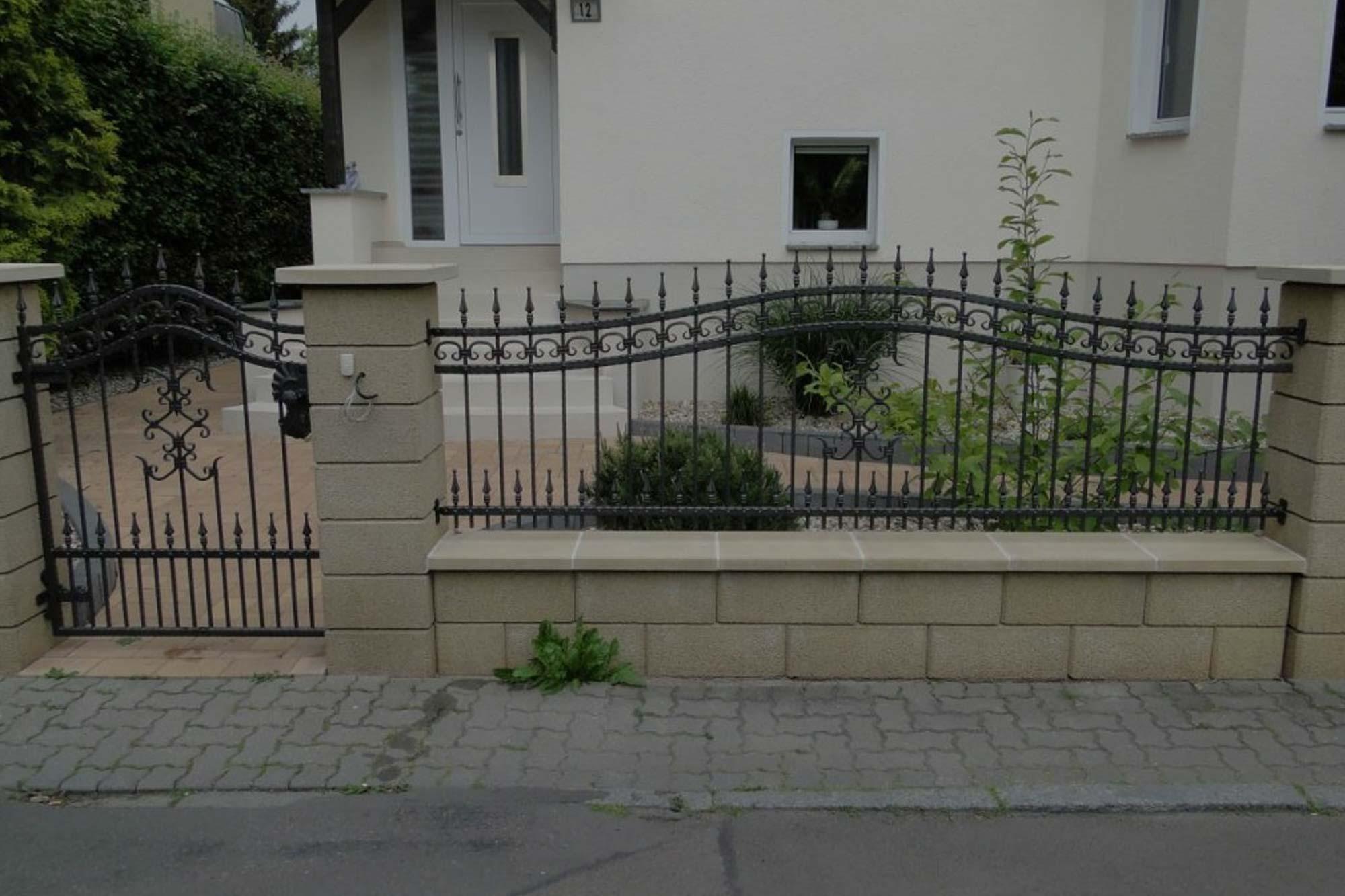 Schmiedeeiserne Tore, Kunstschmiede Hamburg, Oldenburg, Bremen, Varel, Stalmen